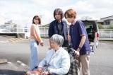 余命幾ばくもない幹枝(梶芽衣子)の「最後の願い」とは?(C)NHK