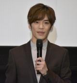 『劇場版BEM〜BECOME HUMAN〜』完成披露試写会に登壇した小野賢章 (C)ORICON NewS inc.