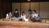 藤岡弘、一家 (左から)天翔愛、藤岡真威人、藤岡舞衣、藤岡弘、、天翔天音)