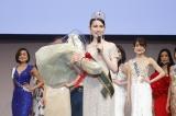 『2020ミス・アース・ジャパン日本代表選考会』グランプリに輝いた東出あんなさん