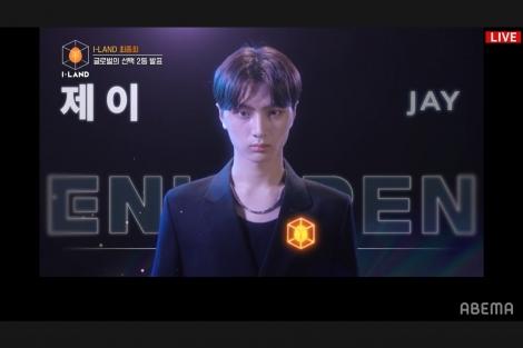 2位:ジェイ:韓国・アメリカ/2002年4月20日生/18歳(C)AbemaTV,Inc.