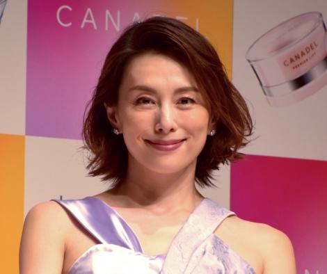 『CANADEL』新CM発表会に登場した米倉涼子 (C)ORICON NewS inc.