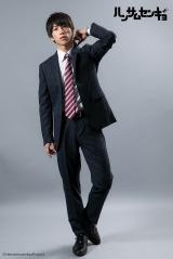 ドラマ『ハンサムセンキョ』(10月7日スタート)「ORIHICA」のスーツを着用した山吹啓介(奥谷知弘) (C)ハンサムセンキョ管理委員会