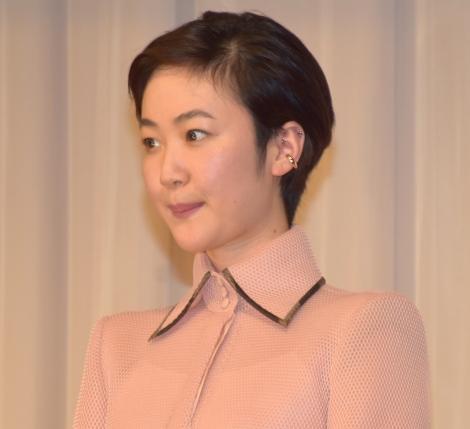 映画『甘いお酒でうがい』の大ヒット祈願イベントに参加した黒木華 (C)ORICON NewS inc.