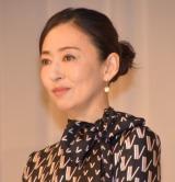 映画『甘いお酒でうがい』の大ヒット祈願イベントに参加した松雪泰子 (C)ORICON NewS inc.