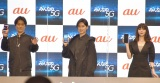 (左から)桐谷健太、松田翔太、池田エライザ (C)ORICON NewS inc.