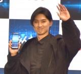 KDDI『UNLIMITED WORLD au 5G 発表会 2020 Autumn』の発表会に出席した松田翔太 (C)ORICON NewS inc.