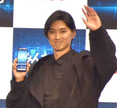 KDDI『UNLIMITED WORLD au 5G 発表会 2020 Autumn』の発表会に出席した松田翔太 (C)ORICON NewS inc.