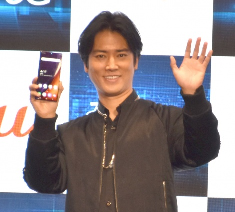 KDDI『UNLIMITED WORLD au 5G 発表会 2020 Autumn』の発表会に出席した桐谷健太 (C)ORICON NewS inc.