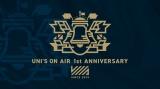 欅坂46・日向坂46を応援する【公式】音楽ゲームアプリ「UNI'S ONAIR」(ユニゾンエアー)1周年キャンペーンロゴ