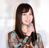 映画『小説の神様 君としか描けない物語』の公開直前記念イベントに出席した橋本環奈 (C)ORICON NewS inc.