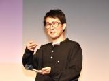映画『甘いお酒でうがい』公開記念舞台あいさつに出席したじろう(シソンヌ) (C)ORICON NewS inc.