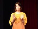映画『甘いお酒でうがい』公開記念舞台あいさつに出席した大九明子監督 (C)ORICON NewS inc.