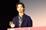 映画『甘いお酒でうがい』公開記念舞台あいさつに出席した清水尋也 (C)ORICON NewS inc.