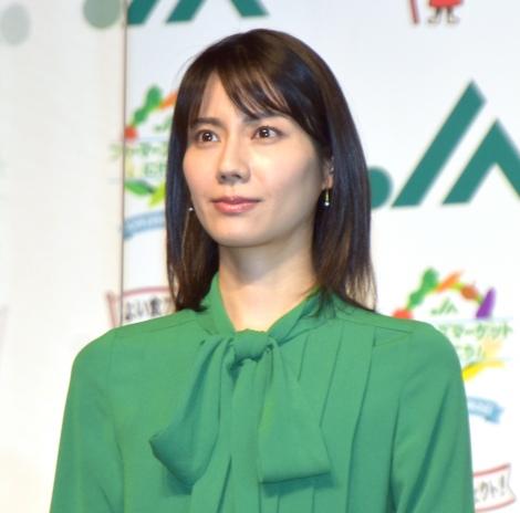 『10月2日は直売所の日』PRイベントに参加した松下奈緒 (C)ORICON NewS inc.