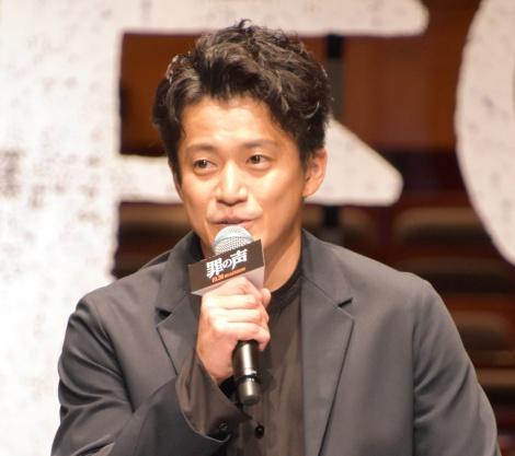 映画『罪の声』完成報告会に出席した小栗旬 (C)ORICON NewS inc.