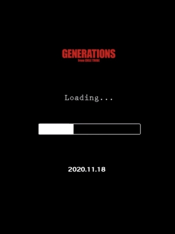 GENERATIONS from EXILE TRIBEの24thシングルタイトルは「Loading...」(11月18日発売)