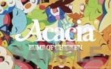 BUMP OF CHICKENの両A面シングル「アカシア/Gravity」アカシア盤に封入されるステッカー
