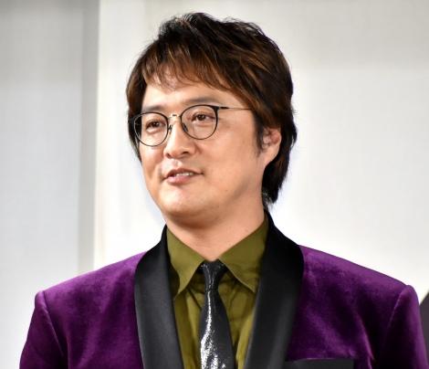 FODドラマ『純烈ものがたり』制作発表会見に出席した純烈・酒井一圭 (C)ORICON NewS inc.