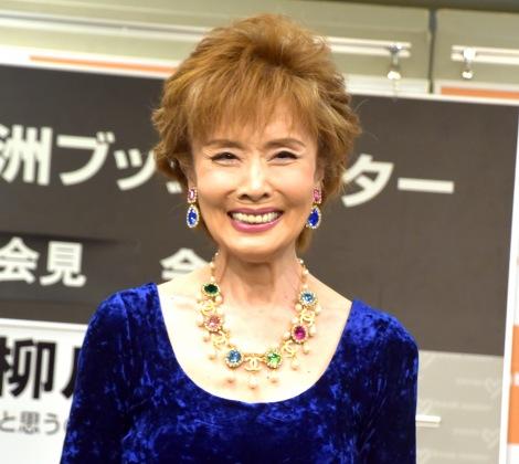 引退を考えていたことを明かした小柳ルミ子=書籍『もう68歳と思うのか、まだ68歳と考えるのか』発売記者会見 (C)ORICON NewS inc.