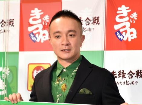 『マルちゃん「赤いきつね緑のたぬき」』新CM発表会に出席した濱田岳 (C)ORICON NewS inc.