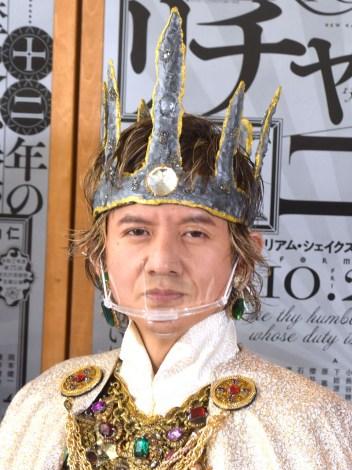 新国立劇場演劇公演『リチャード二世』囲み取材に出席した岡本健一 (C)ORICON NewS inc.