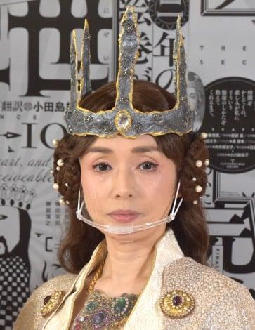 新国立劇場演劇公演『リチャード二世』囲み取材に出席した中嶋朋子 (C)ORICON NewS inc.