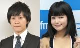 (左から)流れ星・瀧上伸一郎、小林礼奈 (C)ORICON NewS inc.