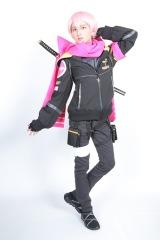 コードネーム【ピンク】:望月もも(板垣李光人)=新番組『ゆる系忍者隊 ニンスマン』10月4日スタート (C)テレビ朝日