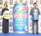 (左から)木村佳乃、唐沢寿明 (C)ORICON NewS inc.