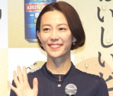 『キリン一番搾り 糖質ゼロ』発売記念イベントに登場した木村佳乃 (C)ORICON NewS inc.