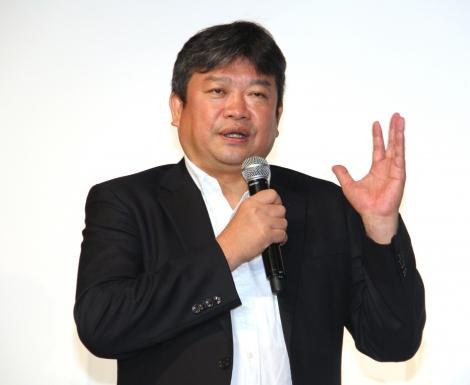 映画実験レーベル『Cinema Lab』の設立会見に登場した本広克行氏 (C)ORICON NewS inc.