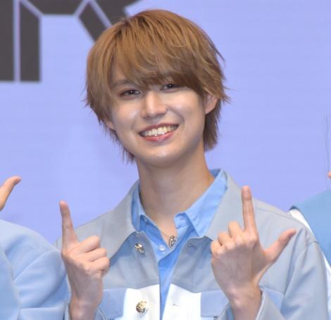 1stアルバム『The STAR』を発売することを発表したJO1・白岩瑠姫 (C)ORICON NewS inc.