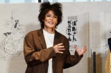 ヴィレッヂプロデュース2020SeriesAnotherStyle『浦島さん』『カチカチ山』囲み取材に出席した宮野真守 撮影:田中亜紀