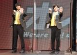 『オレたち応援屋!!On Stage』の取材会に出席した(左から)7 MEN 侍の佐々木大光、菅田琳寧 (C)ORICON NewS inc.