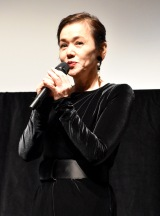 『COCOON Movie!! 芸術監督名作選』の初日舞台あいさつに出席した大竹しのぶ (C)ORICON NewS inc.