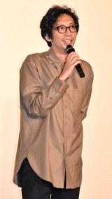 映画『窮鼠はチーズの夢を見る』大ヒット御礼舞台あいさつに出席した行定勲監督 (C)ORICON NewS inc.