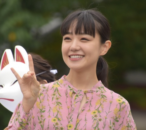 映画『みをつくし料理帖』大ヒット祈願祭に参加した奈緒 (C)ORICON NewS inc.