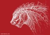 完全新作TVアニメシリーズ『ゴジラ S.P<シンギュラポイント>』ゴジラのデザイン画(C)2020 TOHO CO., LTD.