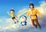 『STAND BY ME ドラえもん 2』と菅田将暉のコラボスチール(C)Fujiko Pro/2020 STAND BY ME Doraemon 2 Film Partners