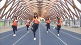 日向坂46のヒット曲「キュン」をエクササイズダンスにした『キュンエク』(C)日本テレビ