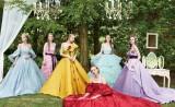 マルチクリエーター・三浦大地氏がデザインした「ディズニープリンセス」のウエディングドレス(C)Disney