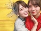 白石麻衣(左)と梅澤美波