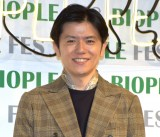 フリー転身後初イベントに登場した青木源太アナウンサー=『Biople Fes Vol.11』 (C)ORICON NewS inc.