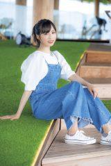 『FLASHスペシャル』グラビアBEST2020年秋号に登場するAKB48・小栗有以(C)田川雄一、光文社