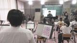山崎育三郎と徳島の中学生ジャズバンド部がコラボ(C)NHK四国