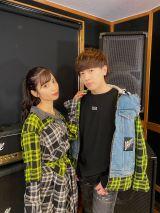 11月12日に配信シングル「ラ・ラ・ランデヴー!」で歌手デビューするヴァンゆん(左から)ゆん、ヴァンビ