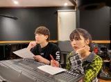 11月12日に配信シングル「ラ・ラ・ランデヴー!」で歌手デビューするヴァンゆん(左から)ヴァンビ、ゆん
