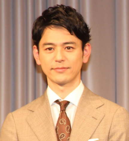 TBS系日曜劇場『危険なビーナス』制作発表会見に出席した妻夫木聡 (C)ORICON NewS inc.