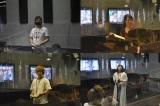 『映画 えんとつ町のプペル』(12月公開)LINE LIVEで実施した声優オーディションを勝ち抜いたライバーたち(左上から)ひかる、田中海帆、蒼井真琴、笑っとけゆーと